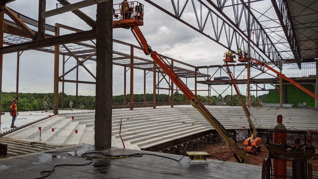 Alabama A&M Event Center construction
