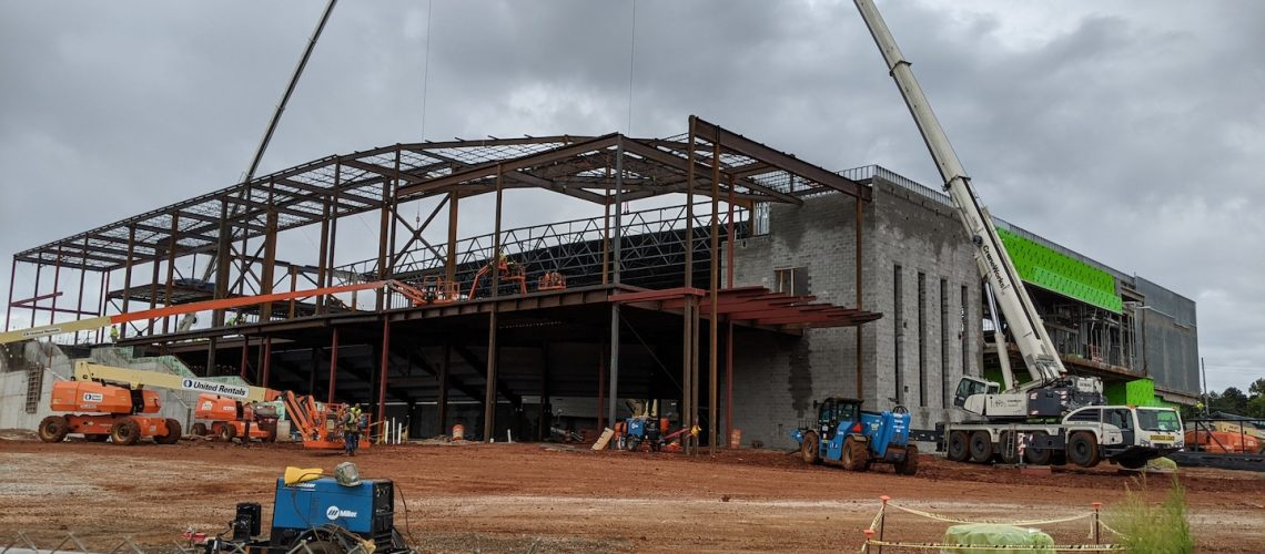 Alabama A&M Event Center under construction