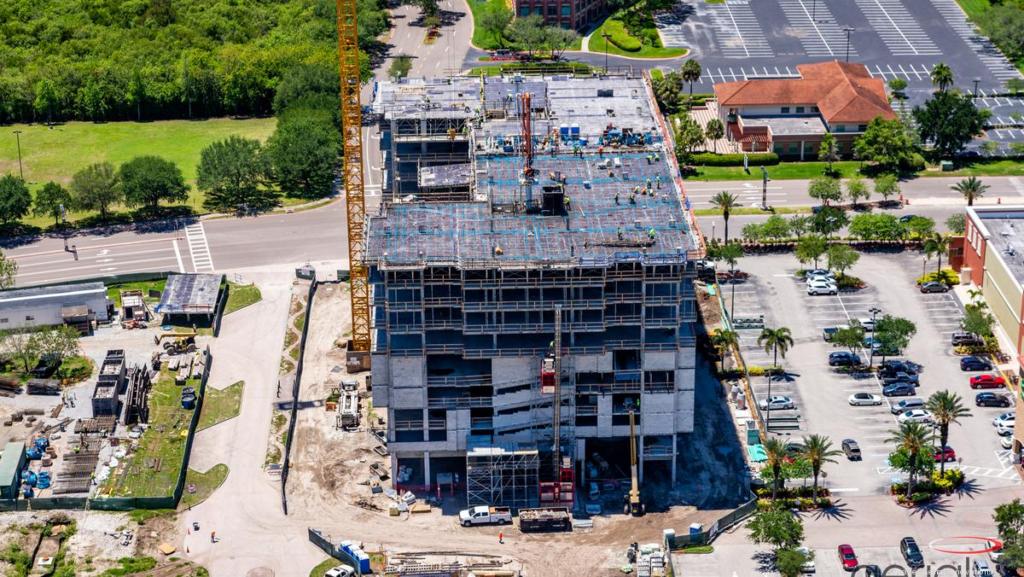 Waterview Apartments in progress